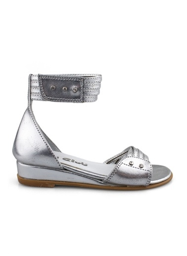 Cicibebe E Kız Çocuk Sandalet Gümüş